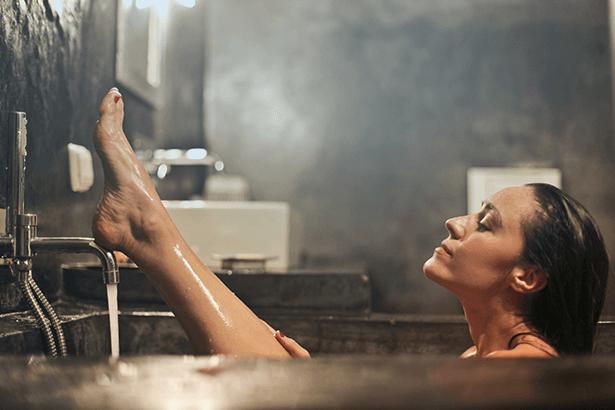 Regenerująca i rozluźniająca kąpiel
